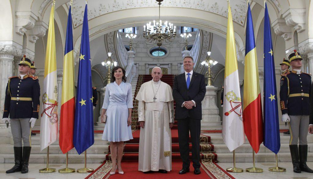 Papa la Cotroceni